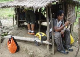 Ferdz Recio of BORN TO BE WILD GMA-7 Caving Documentary in Lobo cave